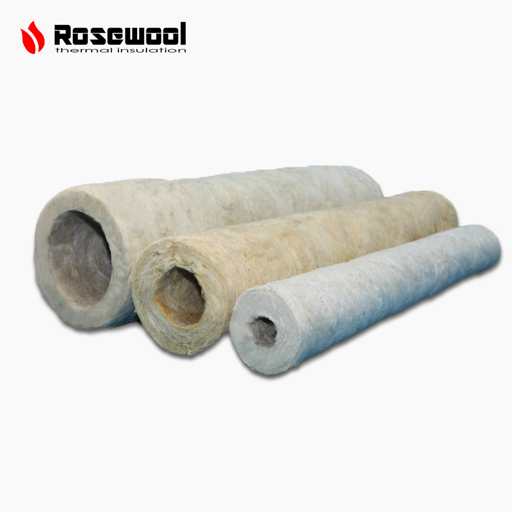 Professional manufacturer of rockwool rosewool thermal for Rockwool pipe insulation prices